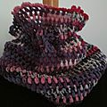 Snood / col au crochet