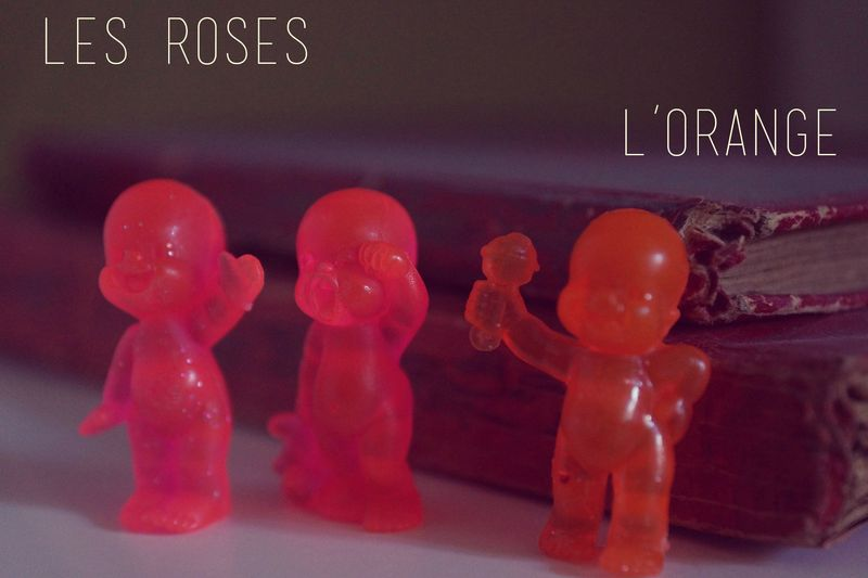 Babies rose et orange