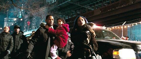 Robert Neville et sa famille