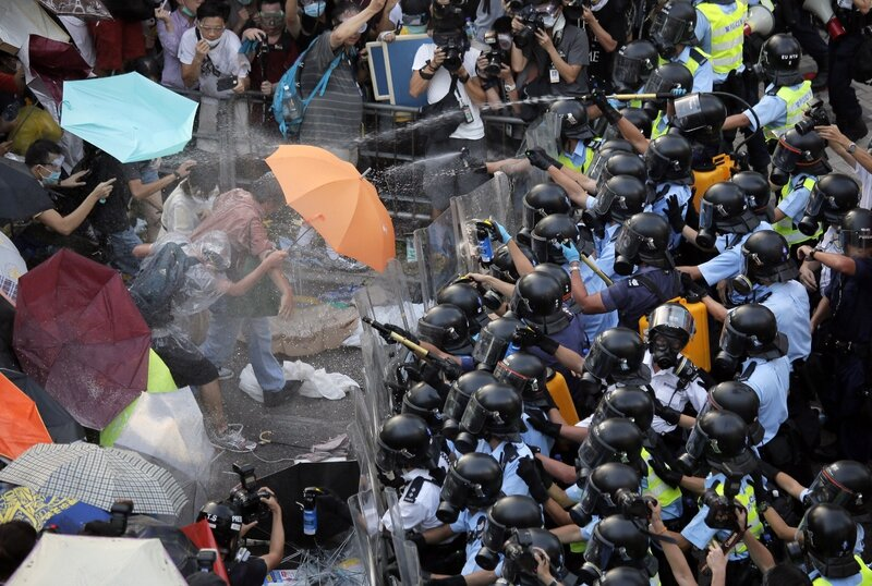 APTOPIX-Hong-Kong-Democracy-Protest