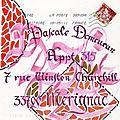 Mailart de The Framboise 001