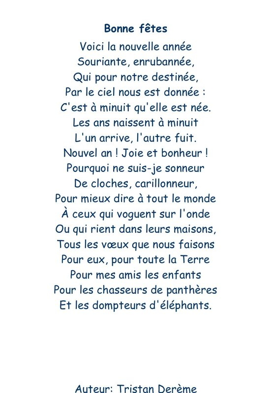 poeme nouvel an