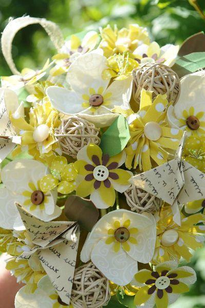 bouquet anis et crème 2 DIY