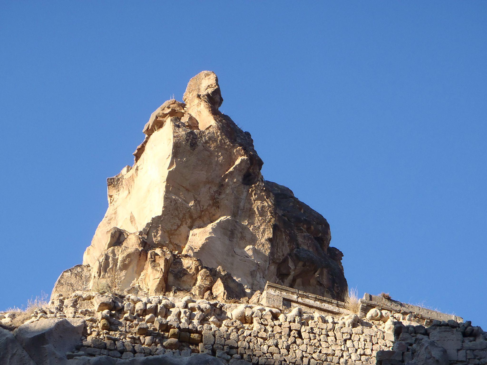 turquie cappadoce ortéhisar cheminée du sphinx