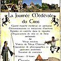 3ème journée médiévale au vieux château du cros