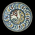 Kubachi plate, iran, late 16th-early 17th century