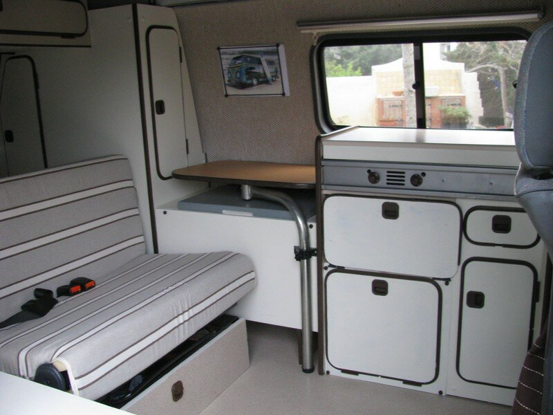 15 on en est l vw transporter t4 am nagement camping. Black Bedroom Furniture Sets. Home Design Ideas