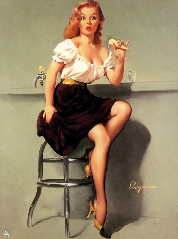 12-pin-up-painting-by-gil-elvgren