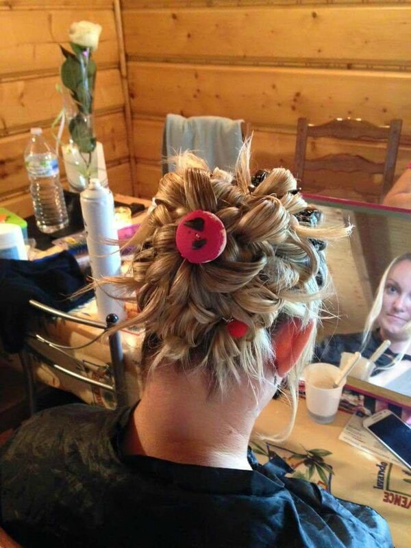 photo chignon gourmandise 2