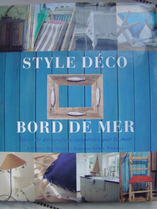 Style d co bord de mer photo de dans ma biblioth que for Salle de bain theme mer