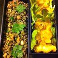 Bento 133: salade de lentille et tarte délicieuse!