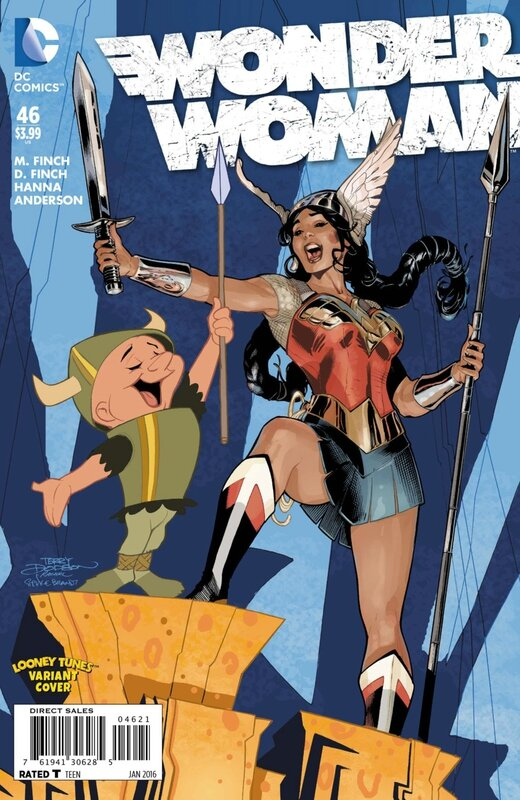 wonder woman 46 looney tunes variant