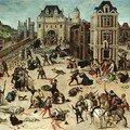 Le massacre de la saint-barthelemy