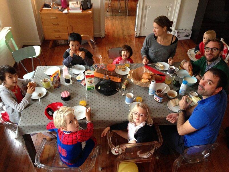 We entre amis la vie en rose - Idee repas famille nombreuse ...