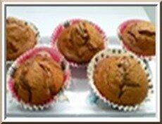 0157s - muffins pralinoise et noix