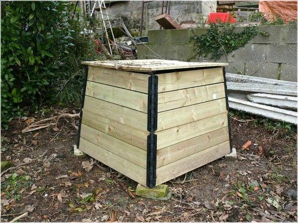 Jardin d 39 hiver divers le petit caillou dans ma poche - Fabriquer un petit composteur ...