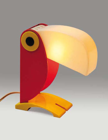 lampe_toucan_Pierre_Berger_design_for_kids