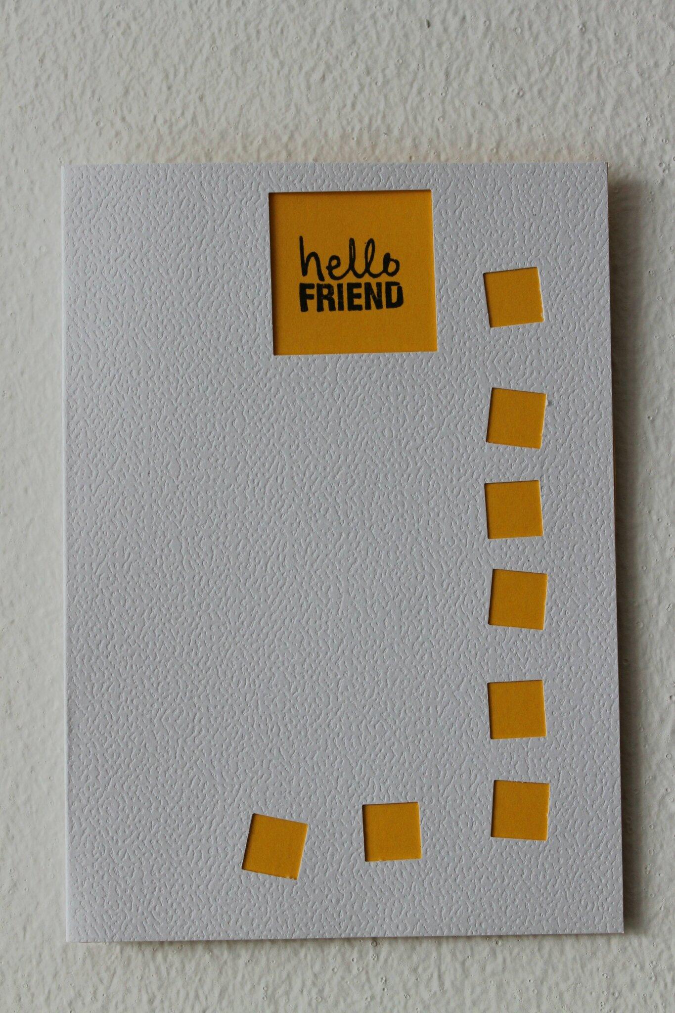 carte amitié 2014