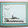 Carte d'anniversaire / a birthday card