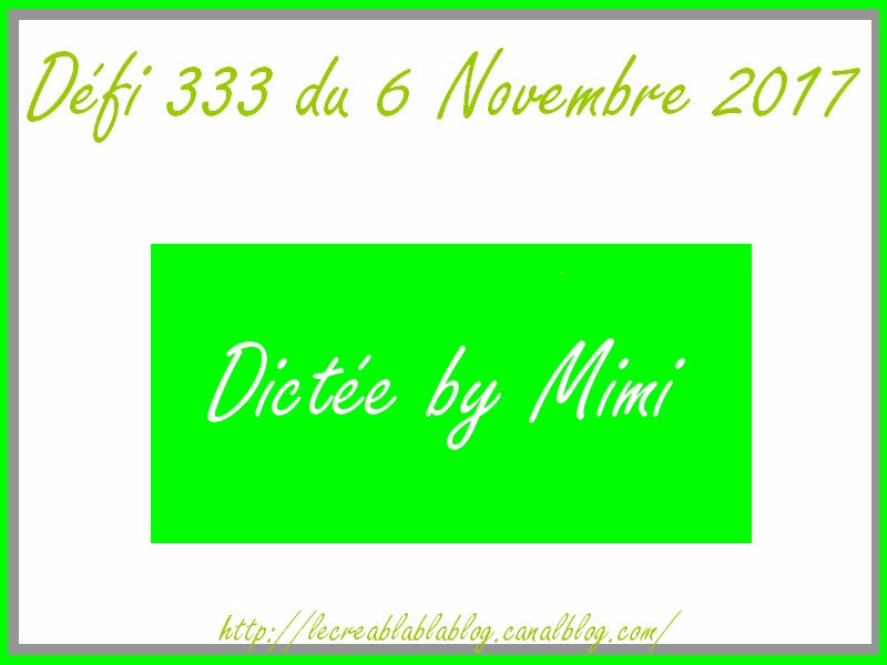 Défi 333