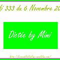 Défi 333 du 6 novembre 2017 - aperçus des cartes de mimi, scrapacrolles et cecile r