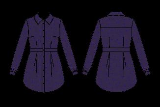 chemise liquette bruyère