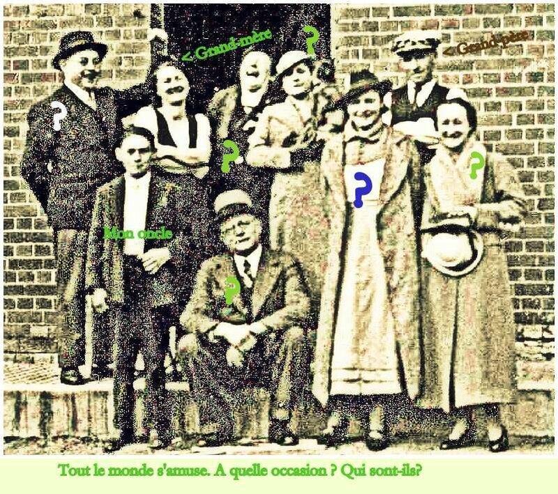 Y- Lucienne, François, Marcel et des inconnus 1933-001