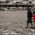 Enfants dans Kibera