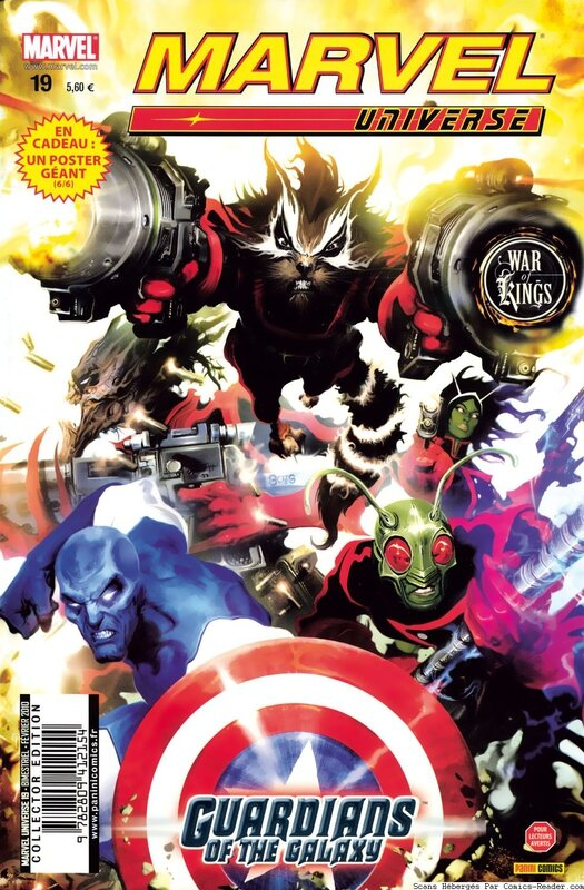 marvel universe 19 war of kings