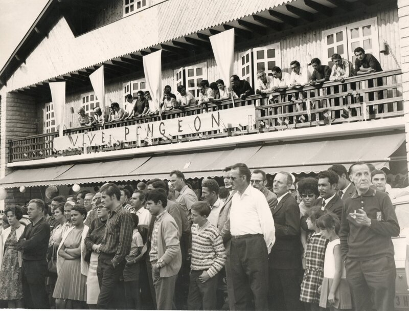 C a Le triomphe hautevillois de Roger Pingeon en 1956