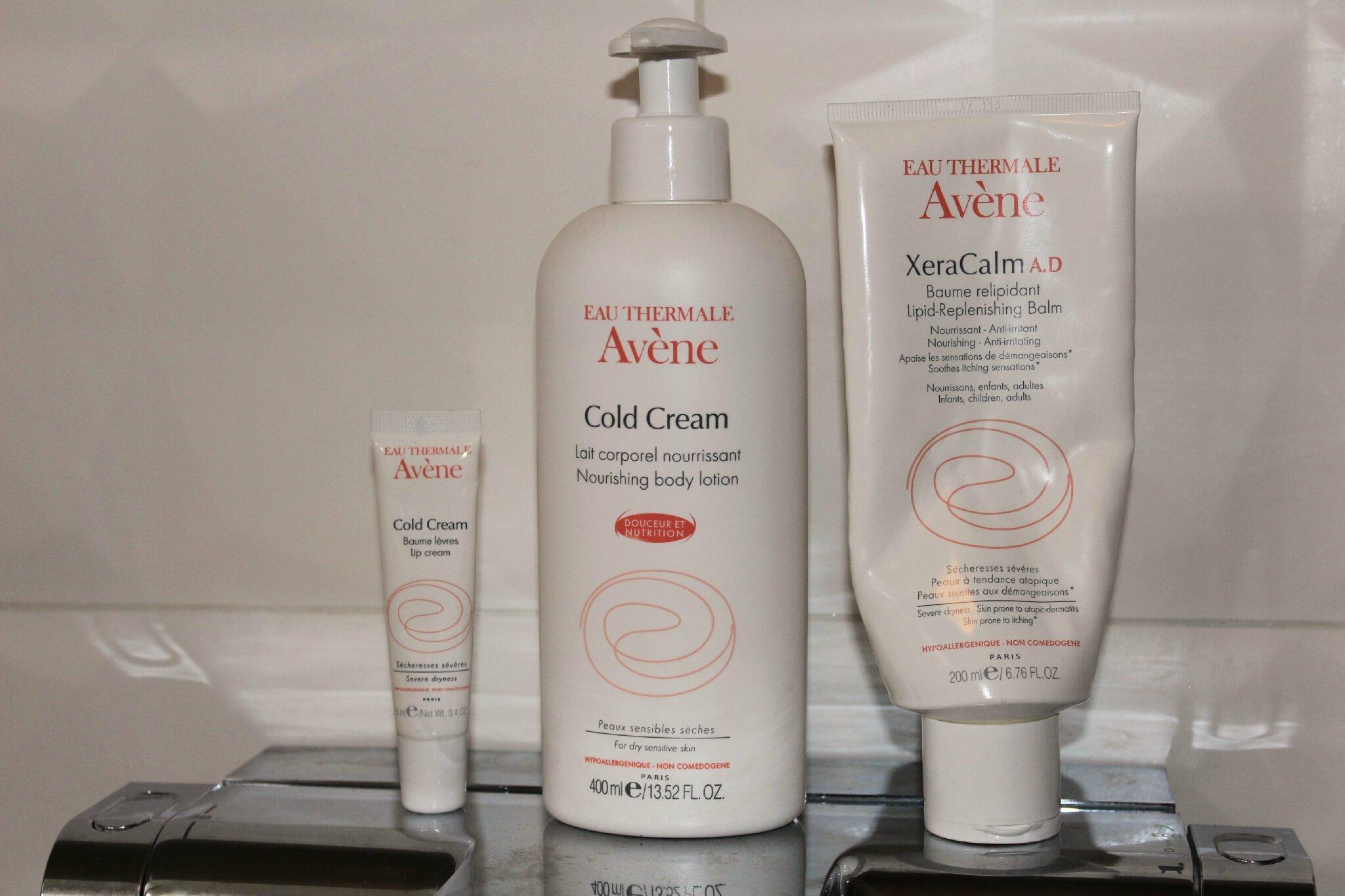 Avène contre la peau sèche en hiver