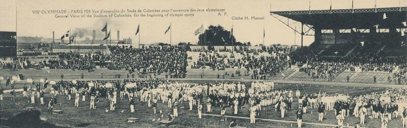 CPA Paris 1924 JO Nations Stade