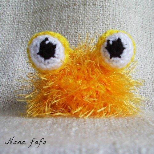 globinours-jaune-porte-cles-crochet