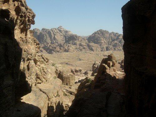Petra, montee vers le Sacrifice