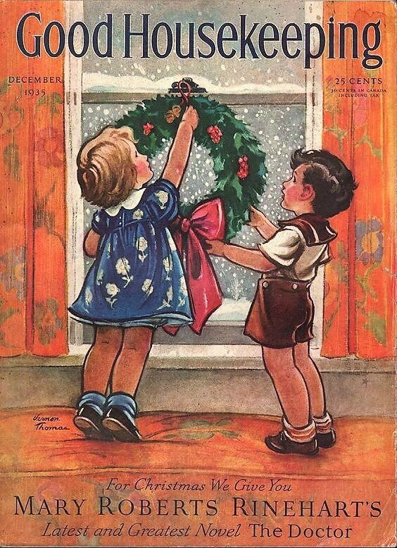 decembre good housekeeping december 1935