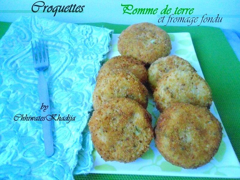 croquettes pdt fromage fondu