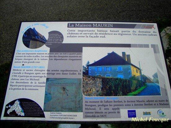 7) panneau maison Maurin