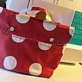 Pochette de sac ou mini cartable