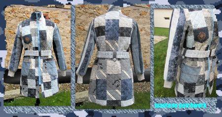 manteau patchwork 1
