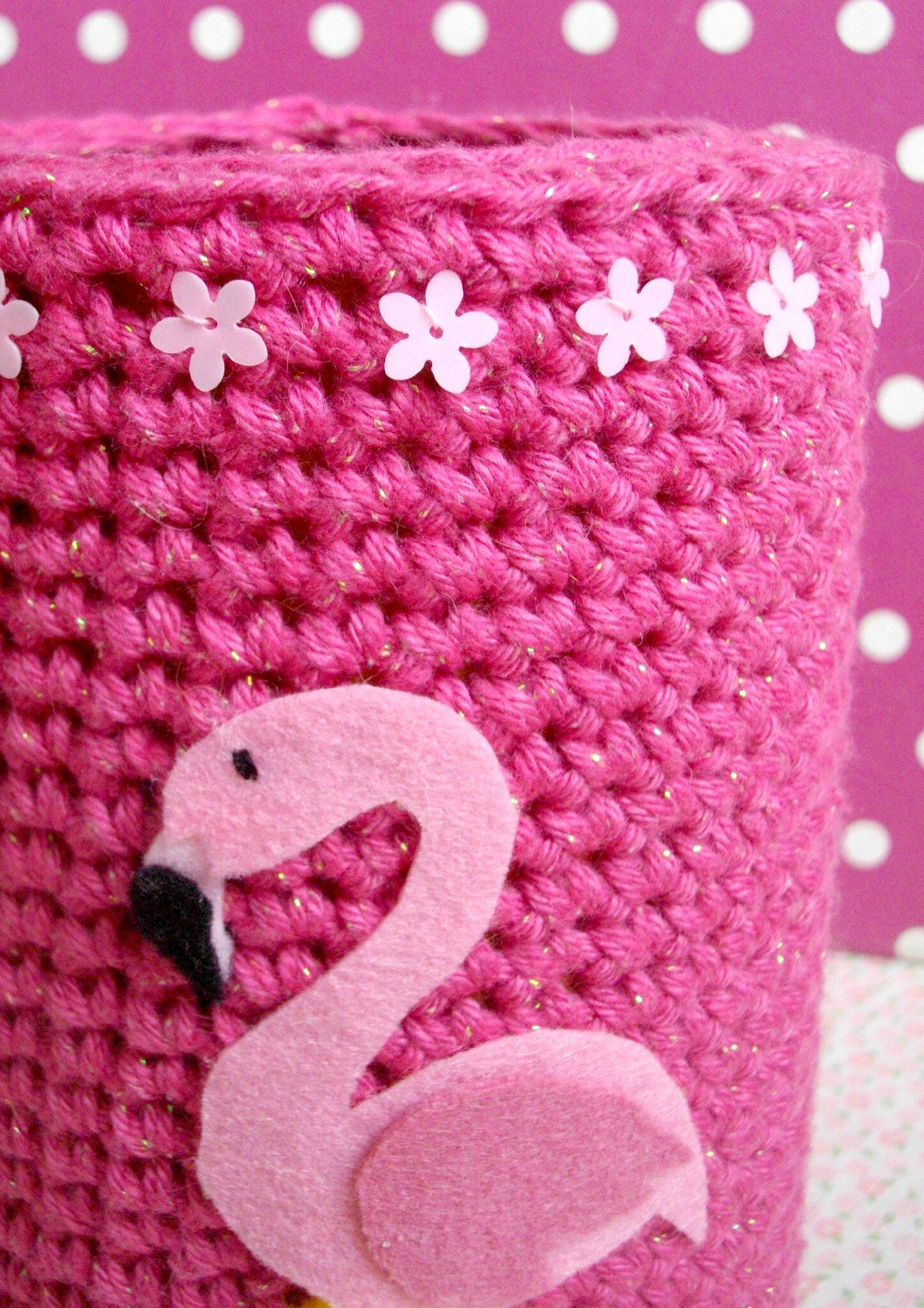 flamant-rose-pink-flamingo-sequins-fleurs-flower-paillettes-the-serial-crocheteuses