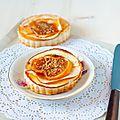 Tartelette {pomme-pralin-cannelle & confiture de lait}