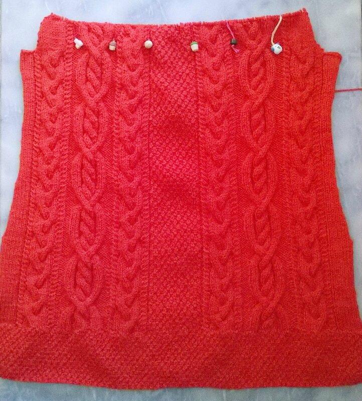 veste capuche Doriane 60 cm 133 rgs motifs