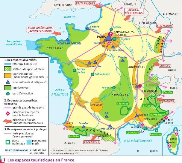 Tourisme - Carte