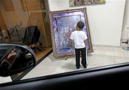 michael_jackson_oil_painting_portrait_ferrari_maserati_rolls_royce