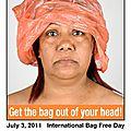 3 juillet, journée mondiale sans sacs plastiques.