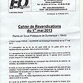 Le bureau de l'union locale de force ouvrière a été reçu par monsieur le sous préfet de dunkerque ce soir à 18 heures.