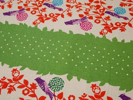 tissu-motif-oiseau-japonais-Paritys-couture-sans-fil-couture-facile