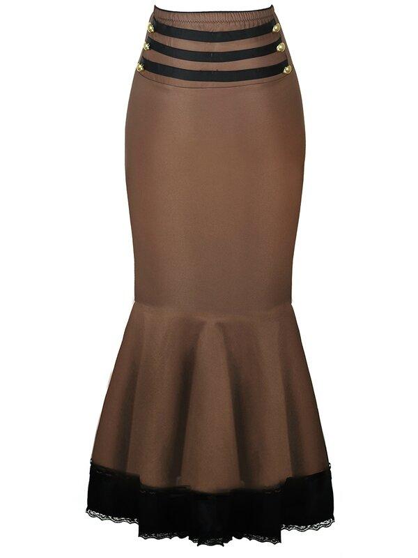 jupe sirene mocha noire soiree habillee (3)