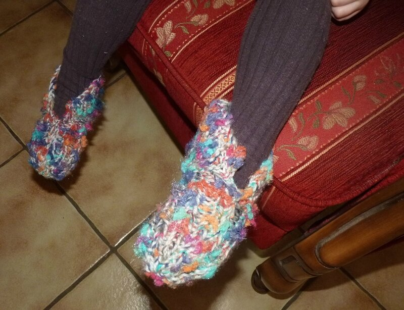 Pantoufles à revers (2)