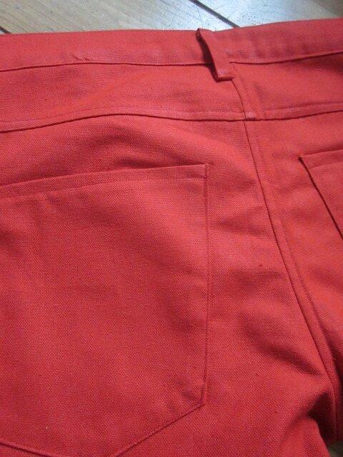 Bermuda slim 4 poches - braguette à boutons (1)